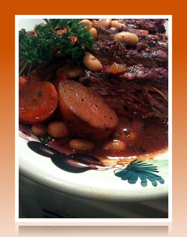 Italian Pot Roast with Cannellini Beans and Herbed Tomato Sauce ...