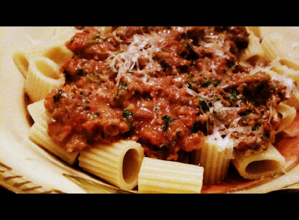 bolognese chicken bolognese with penne emeril s turkey meatloaf ...