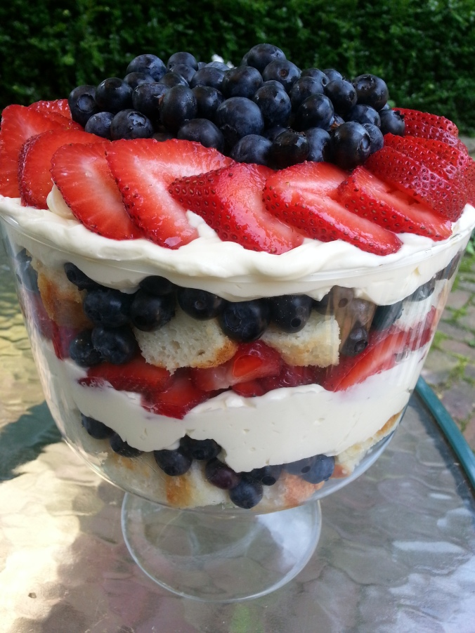 Mixed Berry Trifle