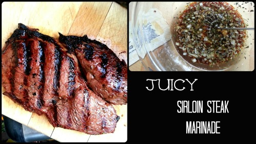 Sirloin Steak Collage