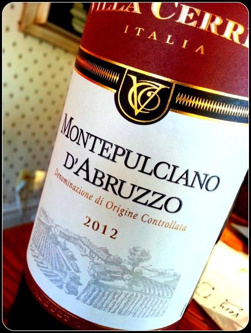 """Montepulciano d""""Abruzzo"""