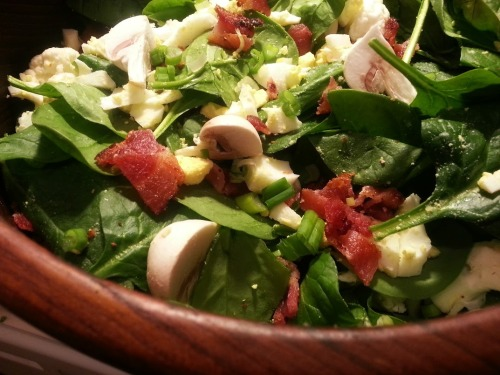 Winter Fresh Spinach Salad | Dinner Is Served