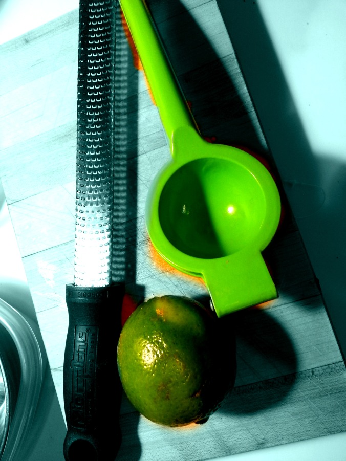 Microplane and Lime Juicer