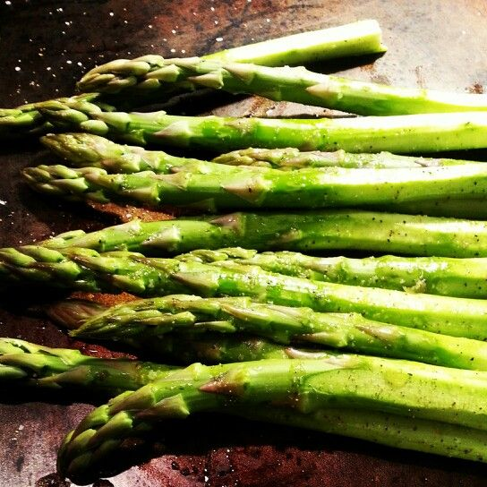 Perfect Roasted Asparagus | DInner Is Served