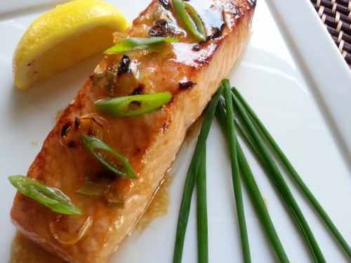 Broiled Scotch Salmon