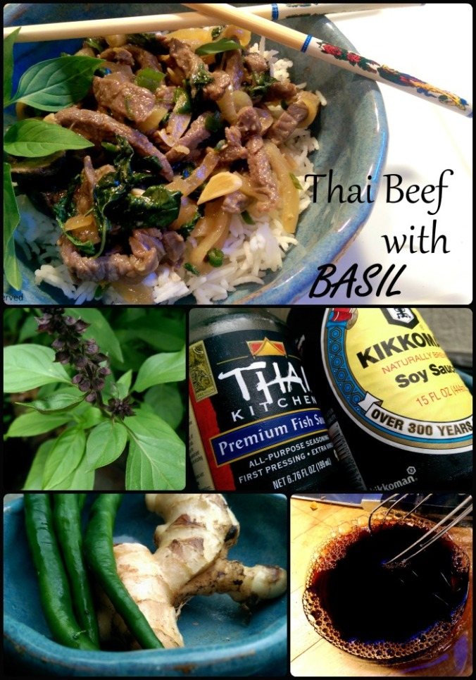 Thai Beef with Basil| DInner Is Served