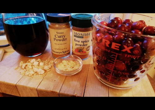 Cranberry Sauce with Ginger and Pinot Noir | Dinner Is Served