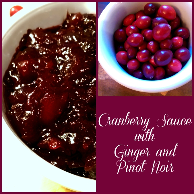 Cranberry Sauce with Ginger and Pinot Noir| Dinner Is Served