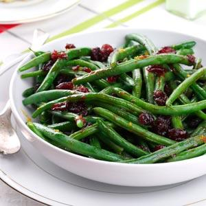 Pomegranate Green Beans