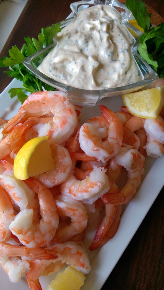 Holiday Dipping Sauce for Shrimp | Dinner Is Served