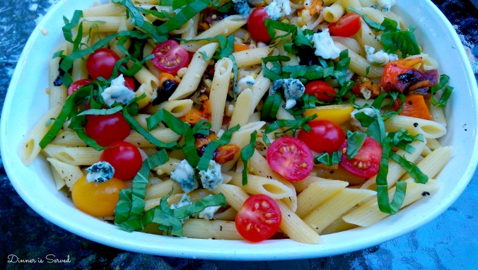 Farmers Market Pasta with Grilled Vegetables Cover 2