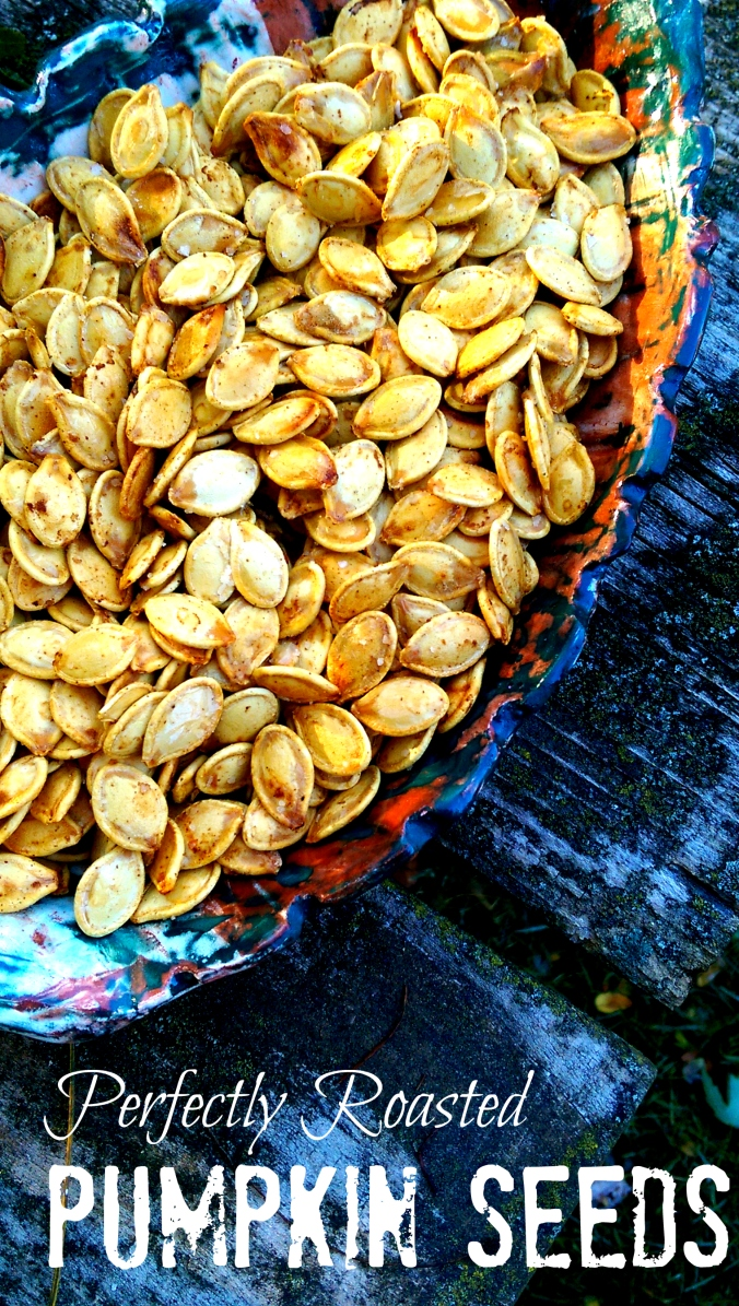 Perfectly Roasted Pumpkin Seeds - Dinner Is Served