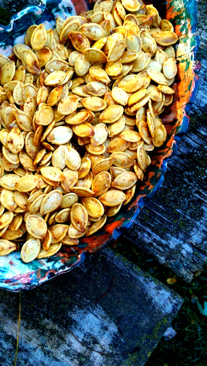 Perfectly Roasted Pumpkin Seeds Dinner Is Served