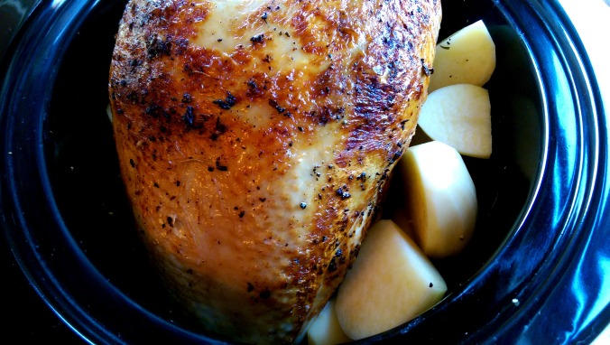 Savory Slow Cooker Turkey Breast | Dinner Is Served