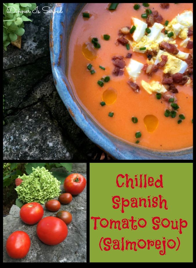 Chilled Spanish Tomato Soup (Salmorejo) - DInner Is Served3