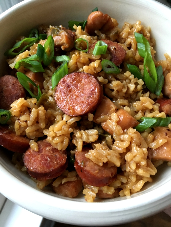 Emeril's Andouille Sausage and Chicken Jambalaya2 Dinner Is Served