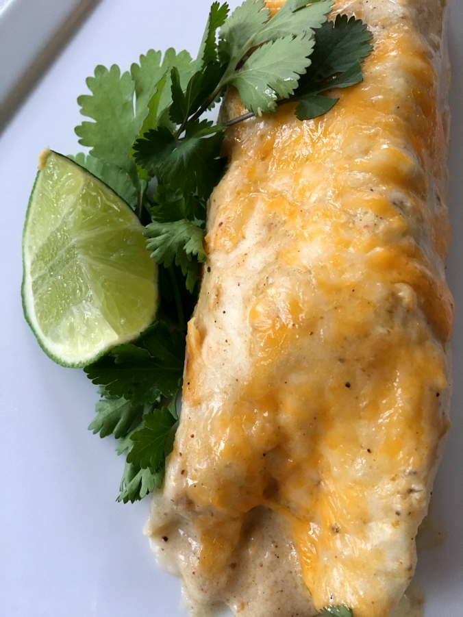 Honey Lime Chicken Enchiladas4-DinnerIsServed