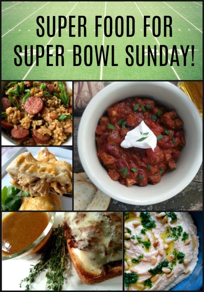 Super Food for Super Bowl Sunday - Dinner Is Served