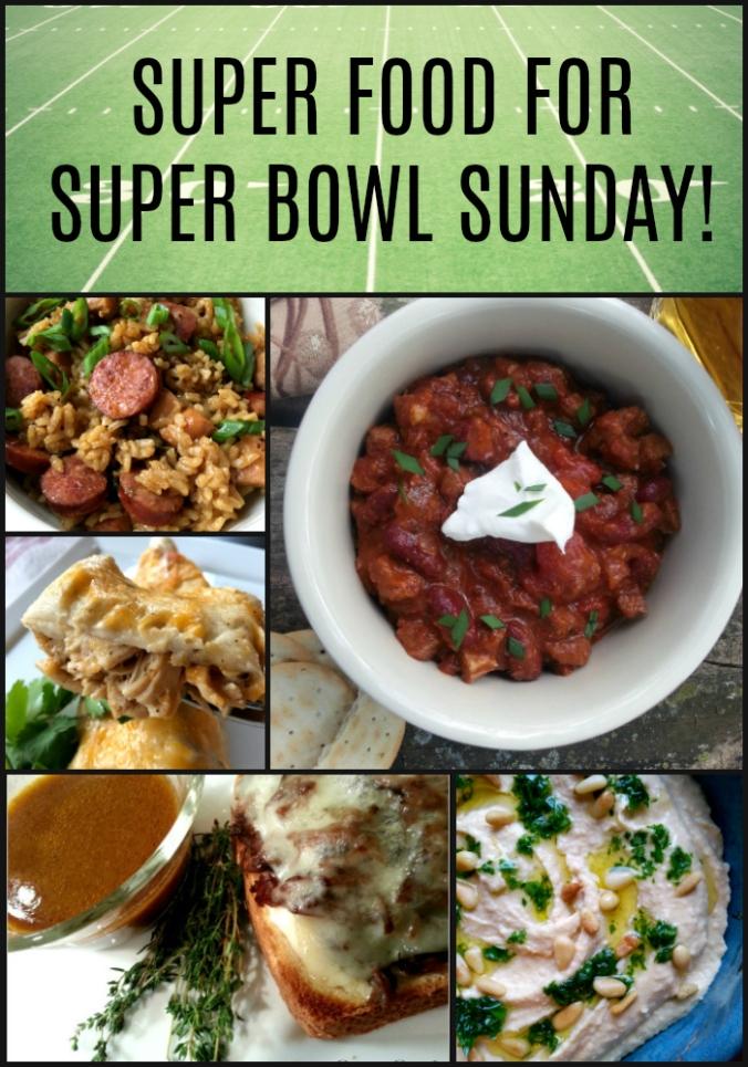 Super Food for Super Bowl Sunday - Dinner Is Served